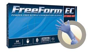 Microflex Freeform� EC Powder-Free Extended Cuff Nitrile Exam Gloves Case Ffe-