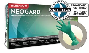 NEOGARD PF CHLOROPRENE GLOVES