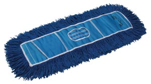 "Twist Dust Mop, Blue, 5"" x 24"""