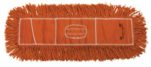 "Twist Dust Mop, Orange, 5"" x 24"""