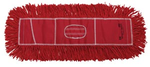 "Twist Dust Mop, Red, 5"" x 24"""