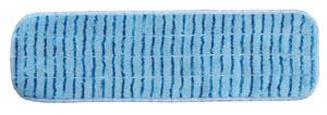 """Mop Pad, Ultra Aggressor Blue Microfiber, 5"""" x 18"""","""