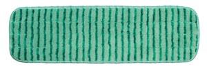 """Mop Pad, Ultra Aggressor Green Microfiber, 5"""" x 18"""","""