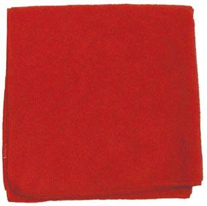 "Microfiber Towel, Red, 230 GSM, 12"" x 12"","