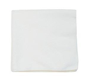 "Microfiber Towel, White, 300 GSM, 16"" x 16"","
