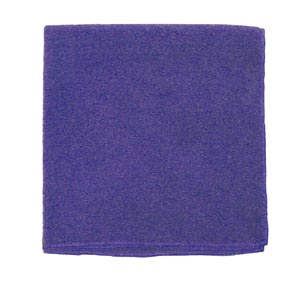 "Microfiber Towel, Purple, 300 GSM, 16"" x 16"","