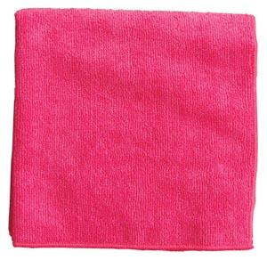 "Microfiber Towel, Pink, 300 GSM, 16"" x 16"","