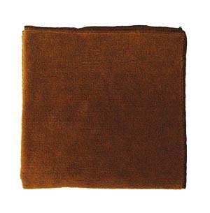 """Microfiber Towel, Brown, 300 GSM, 16"""" x 16"""","""