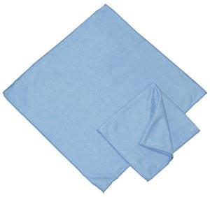 "Microfiber Cloth, Blue Glass, 16"" x 16"""