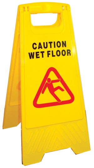Caution Floor Sign, A-Frame,