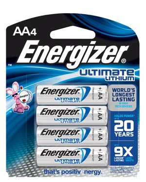 Energizer Industrial Battery - Lithium Box L91Bp-4 By Energizer Battery