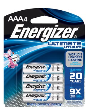Energizer Industrial Battery - Lithium Box L92Bp-4 By Energizer Battery