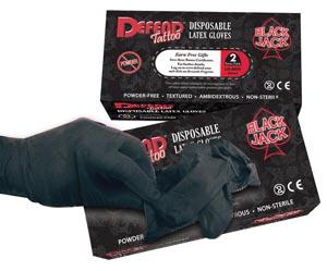 Mydent Blackjack Powder-Free Latex Gloves Case Lg-8002 By Mydent