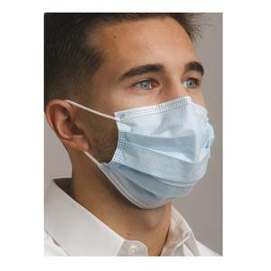Mydent Defend Astm Level 2 Dual Fit Earloop Face Mask Case MK-7200 by Mydent