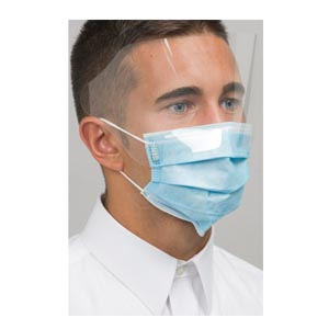Mydent Defend Astm Level 3 Dual Fit Earloop Face Mask Case MK-7400 by Mydent