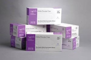 Omni International Omnitrust Nitrile Powder Free Examination Glove Case 212-21 B