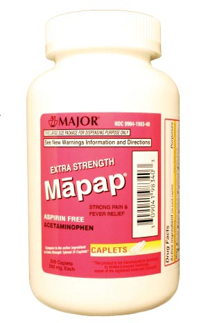 Major Analgesic Caplets Each 100447 By Major Pharmaceuticals