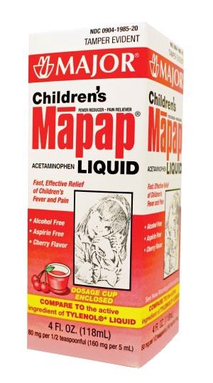 Major Analgesic - Childrens Each 124396 by Major Pharmaceuticals