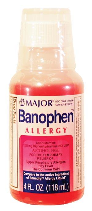 Major Allergy Liquid Each 235192 by Major Pharmaceuticals