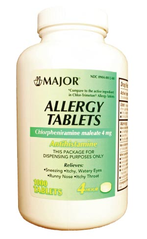 Major Allergy Tablets Each 235937 by Major Pharmaceuticals