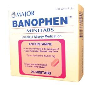Major Allergy Caplets Each 250050 by Major Pharmaceuticals