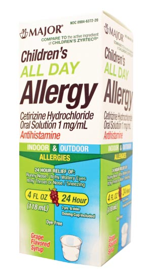 Major Allergy Liquid Each 255014 by Major Pharmaceuticals