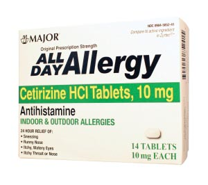 Major Allergy Tablets Each 255546 by Major Pharmaceuticals