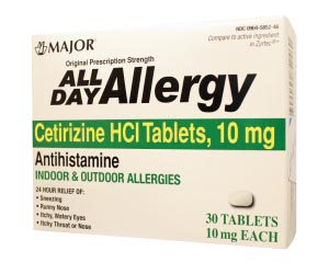 Major Allergy Tablets Each 255548 by Major Pharmaceuticals