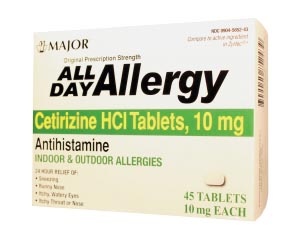 Major Allergy Tablets Each 255549 by Major Pharmaceuticals