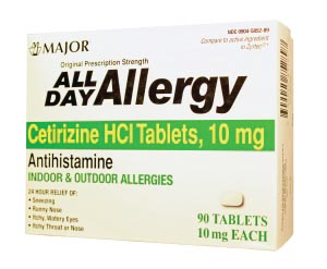 Major Allergy Tablets Each 255550 by Major Pharmaceuticals
