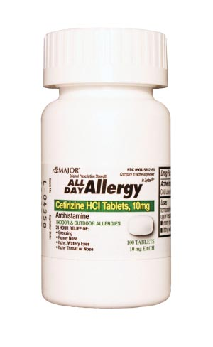Major Allergy Tablets Each 255551 by Major Pharmaceuticals