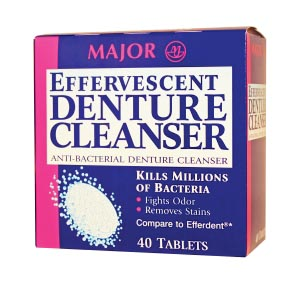 Major Denture Tablets Each 479931 By Major Pharma ceuticals