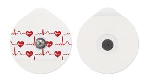 Bio Protech Telectrode ECG Electrodes Box T713Vt-50 By Bio Protech USA