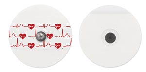 Bio Protech Telectrode ECG Electrodes Box T715-50 By Bio Protech USA