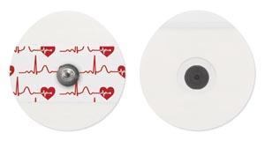Bio Protech Telectrode ECG Electrodes Box T716-50 By Bio Protech USA