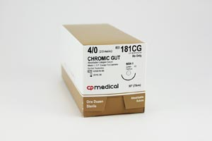 Cp Medical Chromic Gut Natural Absorbable Suture Box 181CG by CP Medical