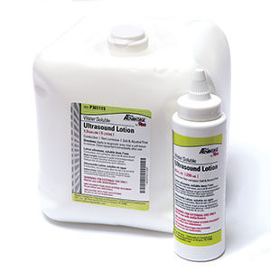 Ultrasound Lotion, 5 Liter Collapsible Container with 1 Empty Bottle Per Box, 4 bx/cs