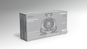 VENTYV NITRILE POWDER FREE EXAM GLOVE PLUS 3.5 (PENGUIN): preorder VNT 10337103 cs                                      $110.88 Stocked