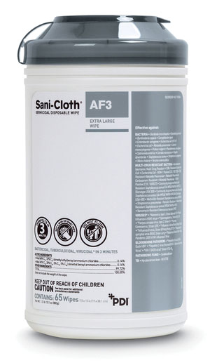 PDI SANI-CLOTH® AF3 GERMICIDAL DISPOSABLE WIPE