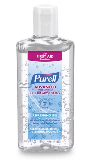 GOJO PURELL ADVANCED INSTANT HAND SANITIZER: preorder GOJ 9651-24 cs                                      $50.05 Stocked