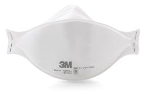 3M AURA PARTICULATE RESPIRATOR: preorder MMM 9210+ cs