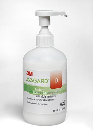 3M AVAGARD D INSTANT HAND ANTISEPTIC: preorder MMM 9222 cs