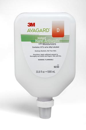 3M AVAGARD D INSTANT HAND ANTISEPTIC: preorder MMM 9230 cs