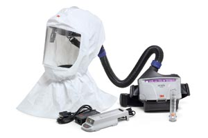 3M VERSAFLO TR-300 POWERED AIR PURIFYING RESPIRATORS & ACCESSORIES: preorder MMM TR-300N+ECK cs                                            $1064.83 Stocked