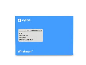 Cytiva 2105-862 Lens Cleaning Tissue, 200mm x 300mm, Grade 105, 100/pk