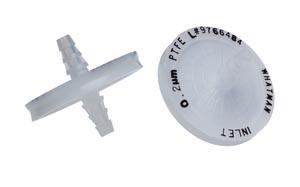 Cytiva 6720-5002 Inline Filter, Whatman Polydisc TF, 0.2µm Pore Size, PTFE, 10/pk