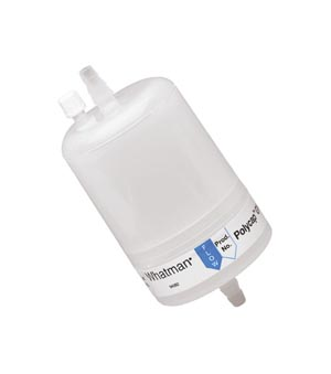 Cytiva 6714-6004 Capsule Filter, Whatman Polycap GW 75, 0.45µm Pore Size, Polyethersulfone, SB Inlet, SB Outlet, 1/pk