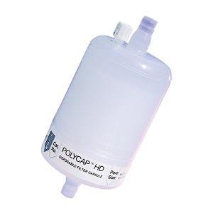 Cytiva 6703-3610 Capsule Filter, Whatman Polycap HD 36, 1.0µm Pore Size, Polypropylene, SB Inlet, SB Outlet, 1pk